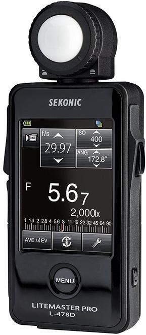 SEKONIC Flashmetre L 478 D sans emet radio