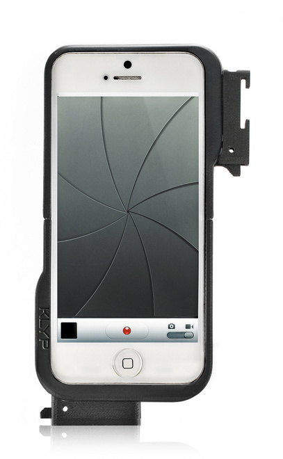 MANFROTTO klyp coque iphone 5 + 2 vis trepied/led.