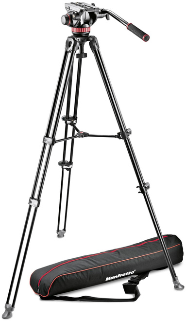 MANFROTTO TREPIED MVK502AM-1 KIT VIDEO+ROTULE 502