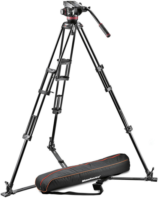 MANFROTTO TREPIED 546 VIDEO + ROTULE 502A