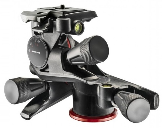 MANFROTTO rotule 3d xpro cremailliere.