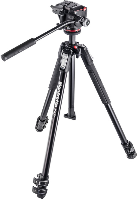MANFROTTO TREPIED MK190X3-2W+ROTULE MHXPRO-2W