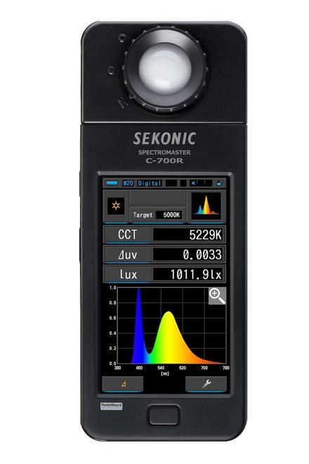 SEKONIC Spectromaster C 700 R emeteur radio