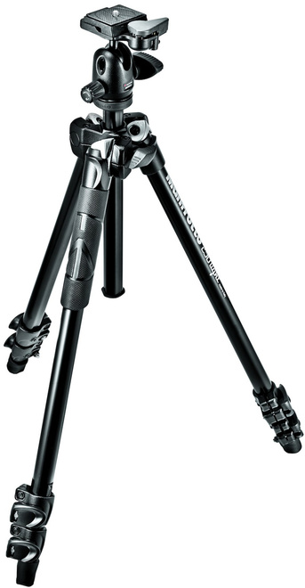 MANFROTTO TREPIED MK290LTA3-V + ROTULE 494RC2