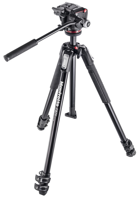 MANFROTTO TREPIED MK190X3-3W1 + ROTULE MH804-3W