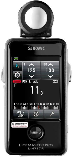 SEKONIC Flashmetre lL 478 DR EL avec radio
