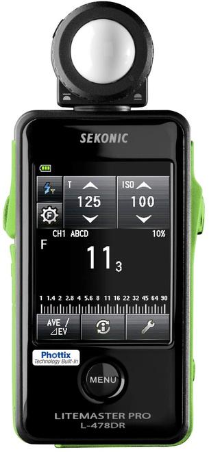 SEKONIC Flashmetre L478 DR PX avec radio