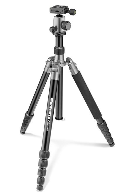 MANFROTTO TREPIED MKELEB5GY ELEMENT TRAVELLER GRIS