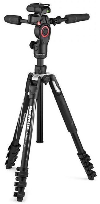 MANFROTTO TREPIED BEFREE LIVE ADVANCED + ROTULE 3D