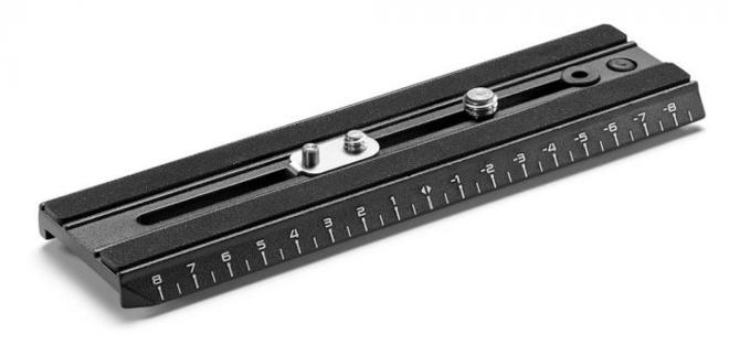 MANFROTTO Plateau video camera + metric ruler