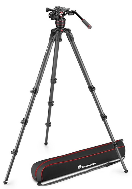 MANFROTTO NITROTECH monopied 608 + 536.