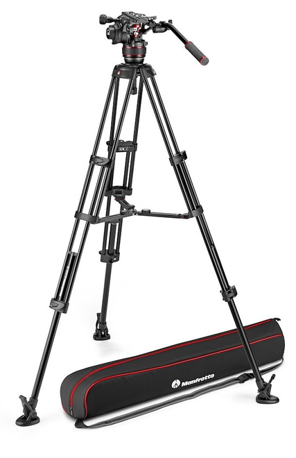 MANFROTTO TREPIED NITROTECH MVK608 ALU TWIN MS