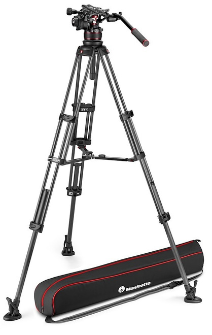 MANFROTTO TREPIED NITROTECH MVK612 CF TWIN MS