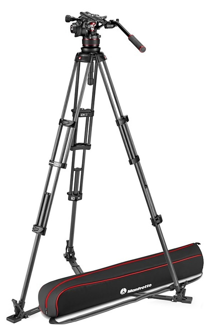 MANFROTTO TREPIED NITROTECH MVK612 CF TWIN GS