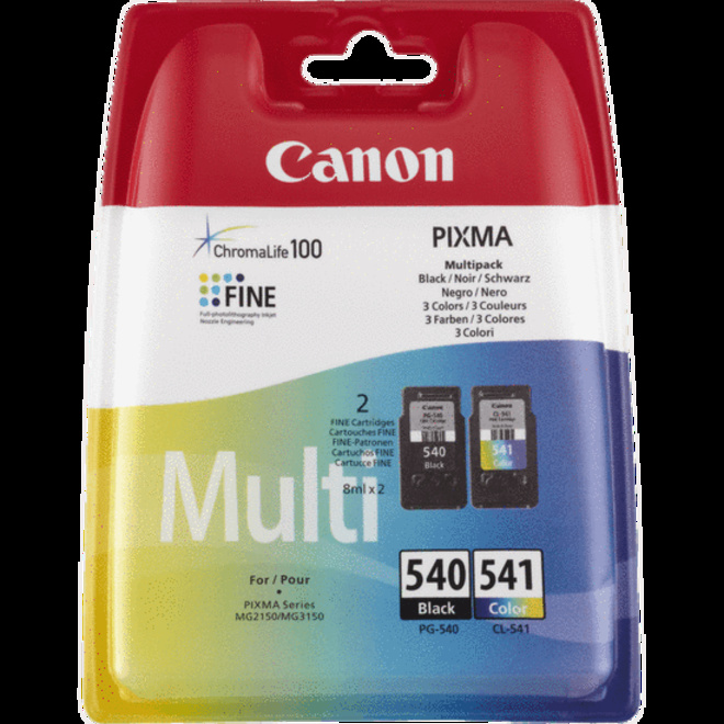 CANON PACK CART PG540 CL-541 MULTI.