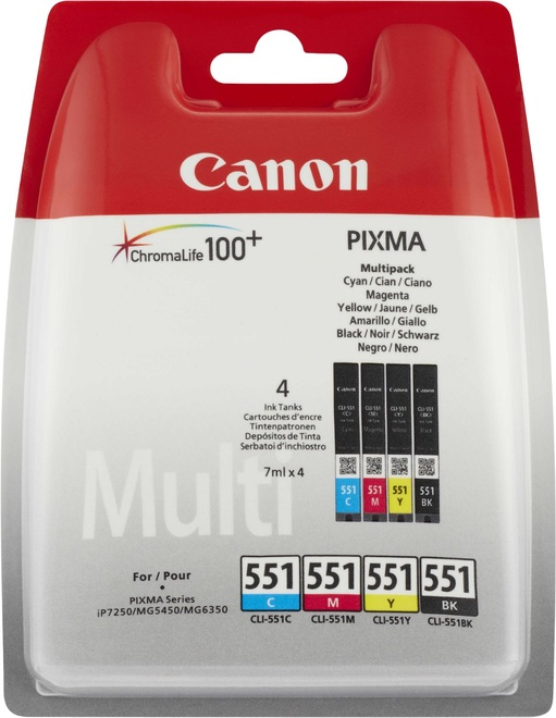 CANON pack 4cart p/mg5450/mg6350/mx925