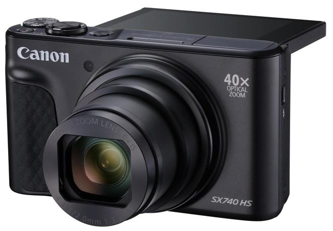 CANON SX740 HS NOIR + DCC-2400 + GORILLAPOD