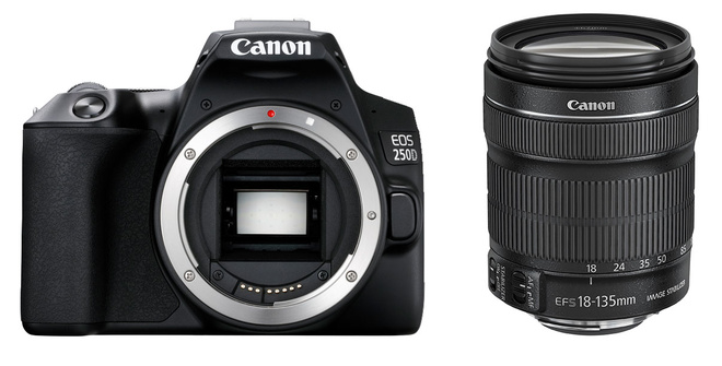 CANON EOS 250D + 18-135 IS STM
