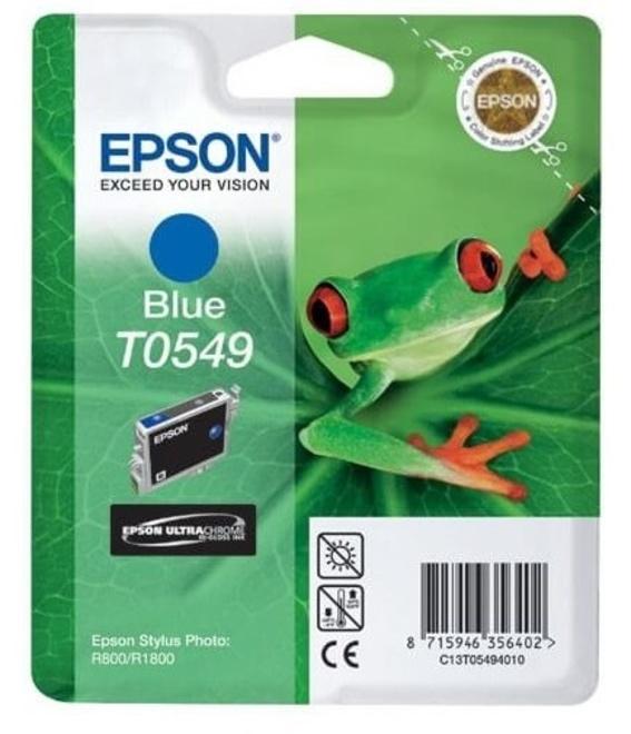 EPSON encre bleue (sp/ r800 /r1800).
