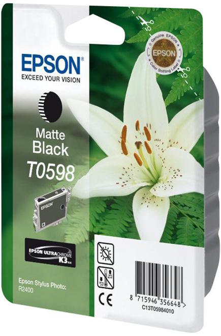 EPSON encre noir mat (sp/ r2400).