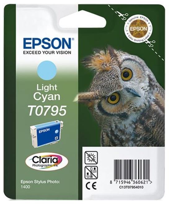 EPSON cart CHOUETTE bleu clair.