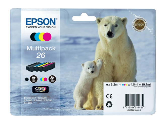 EPSON multipack 4c.serie ours polaire.