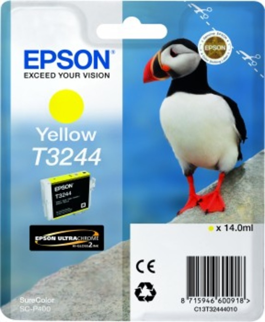EPSON cart MACAREUX yellow.