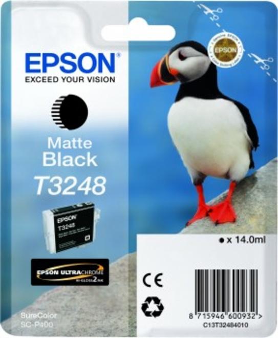 EPSON cart MACAREUX noir mat.
