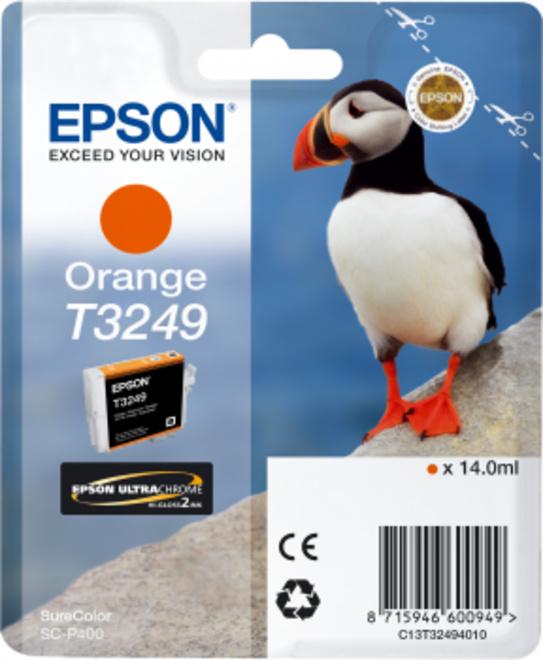 EPSON cart MACAREUX orange.