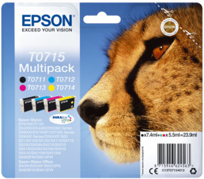 EPSON multipack T0715 GUEPARD.