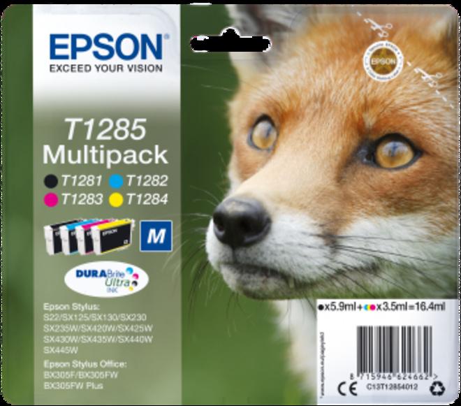 EPSON pack4c s22/sx125/420w/425w/bx305