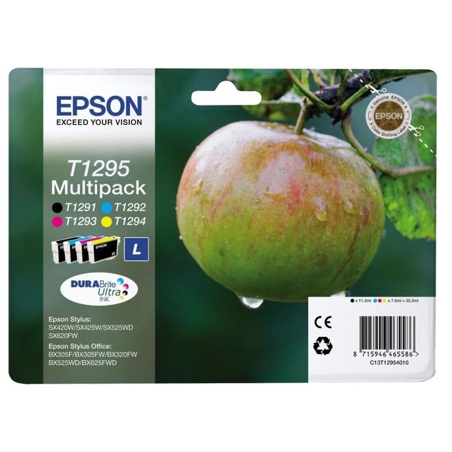 EPSON multipack T129 Pomme N/C/M.