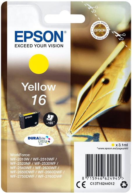 EPSON jaune.serie stylo plume.165p.