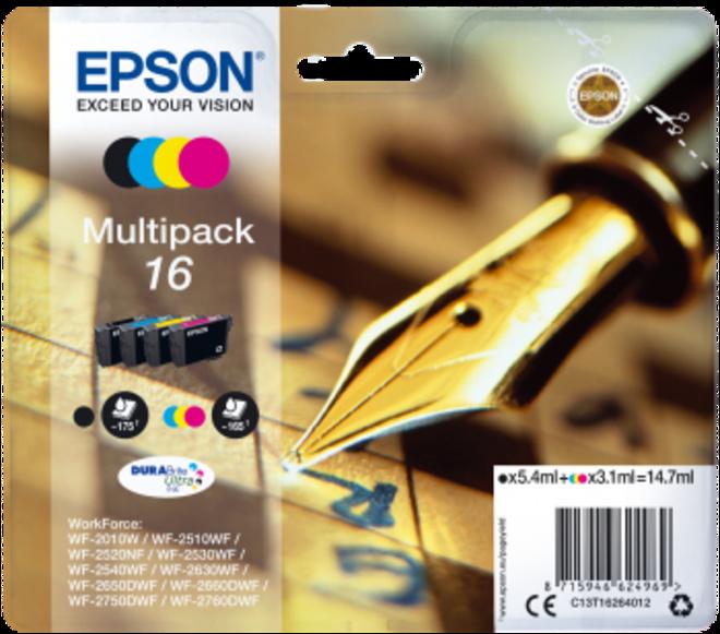 EPSON multipack 4c.serie stylo plume.