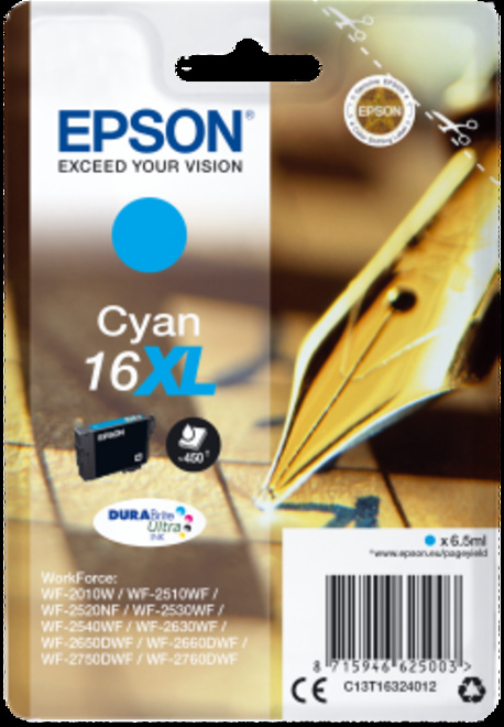 EPSON cart plume XL cyan.