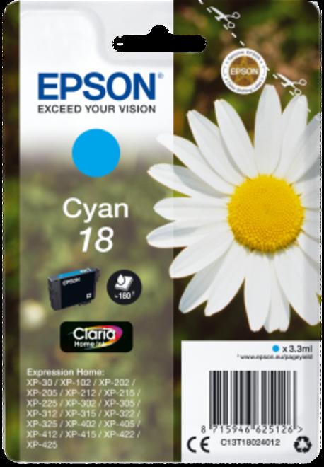 EPSON cyan.serie paquerette.180p.