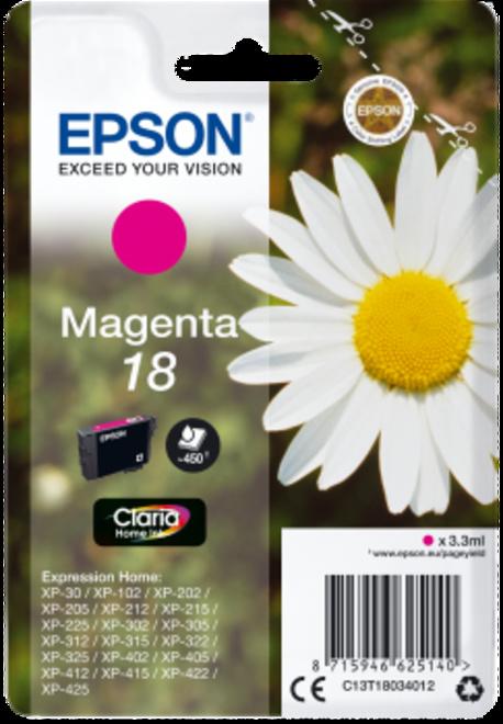 EPSON magenta.serie paquerette.180p.