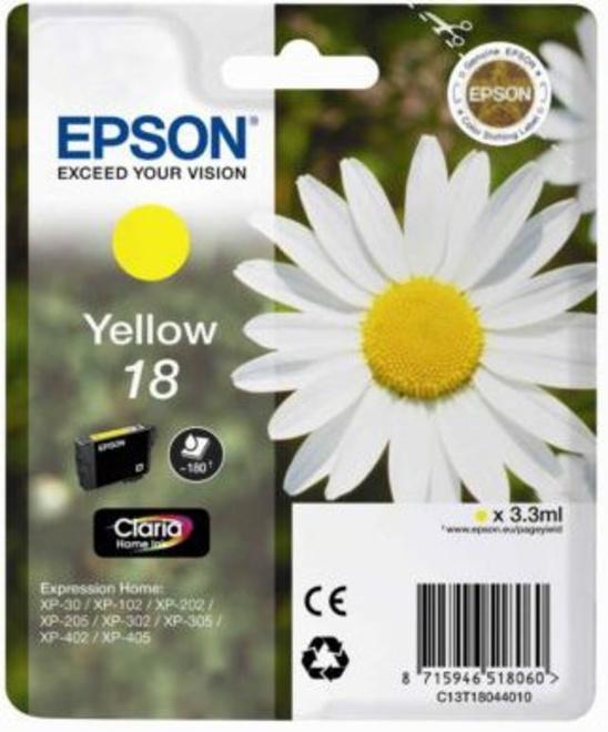 EPSON jaune.serie paquerette.180p.