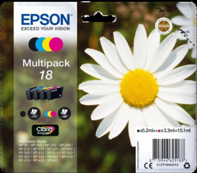 EPSON multipack 4cart.serie paquerette