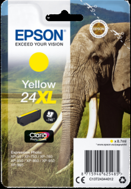 EPSON CART ELEPHANT JAUNE XL.