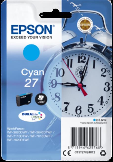 EPSON cart cyan reveil pr wf77.