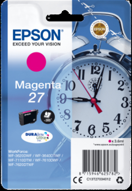EPSON cart magenta reveil pr wf77.