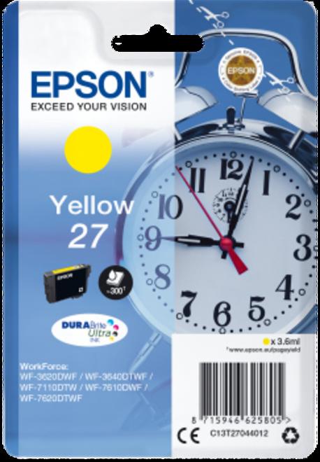 EPSON cart jaune reveil pr wf77.
