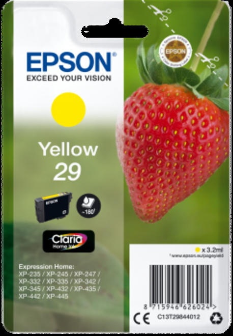 EPSON jaune serie fraise type 29