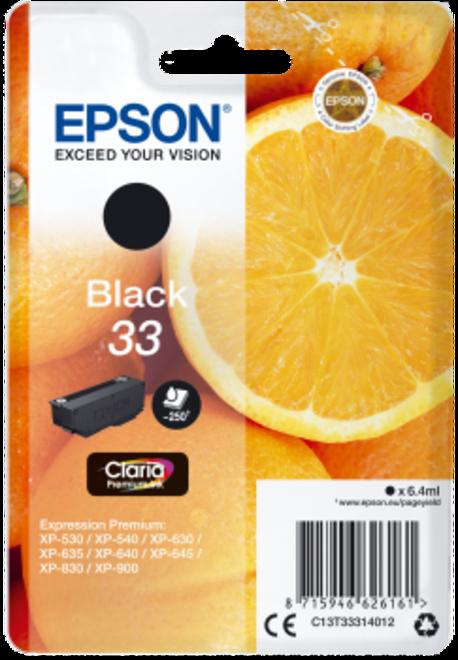 EPSON cart noire - serie ORANGE.