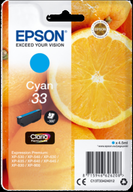 EPSON cart CYAN - serie ORANGE.