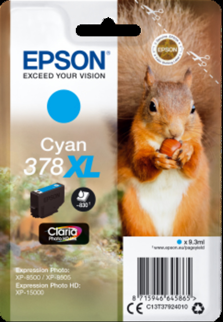 EPSON cart cyan XL ecureil pr xp 8500.