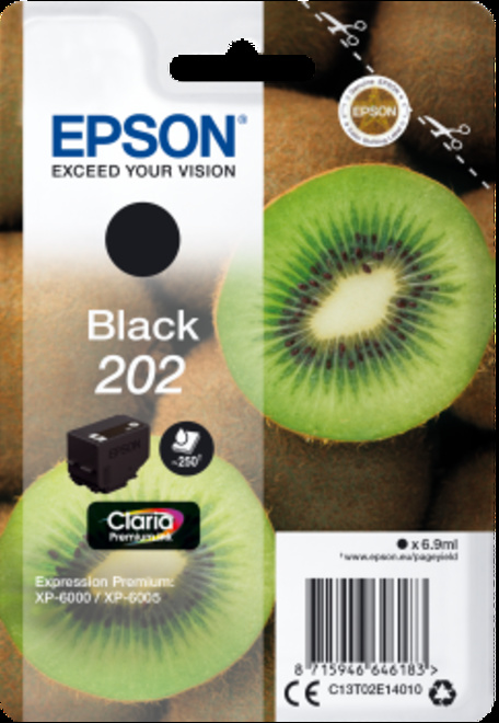 EPSON cart noire kiwi pr xp 6000.