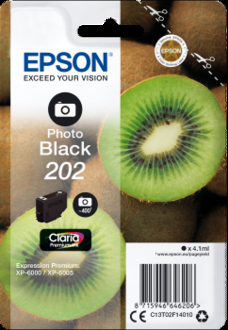 EPSON cart noire photo kiwi pr xp 6000.