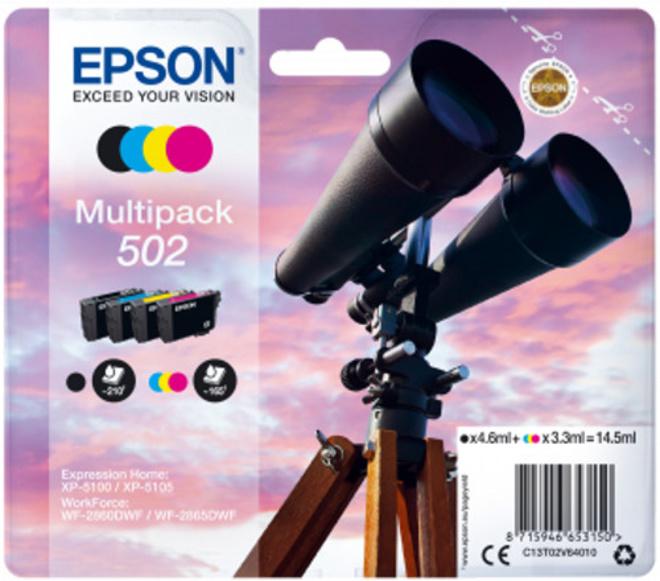 EPSON pack 4 cart jumelle